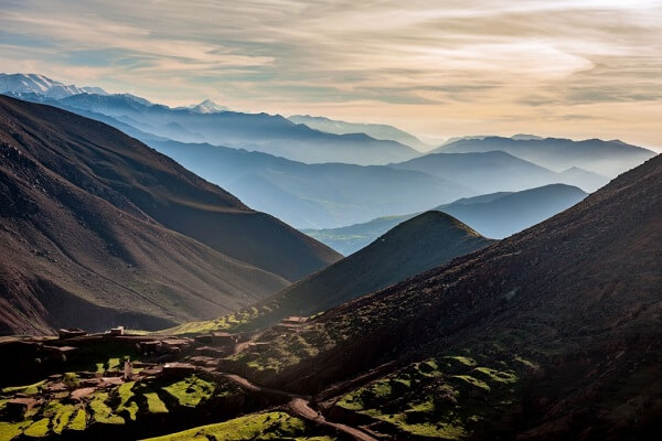 beautiful atlas mountains