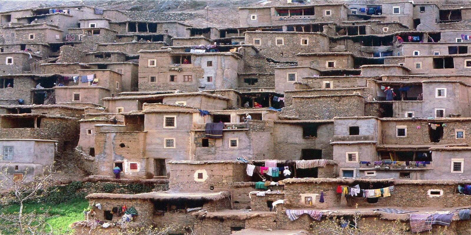 old building in berber village