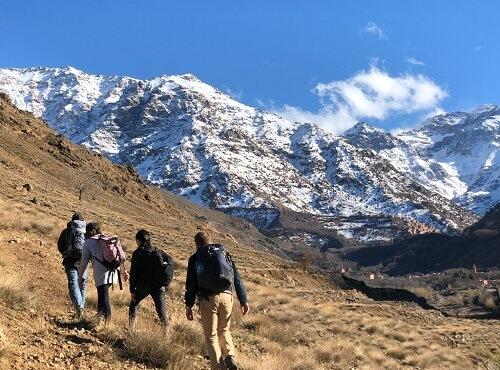 walk in imlil valley