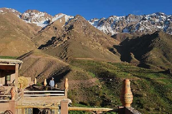 berber place in atlas mountains