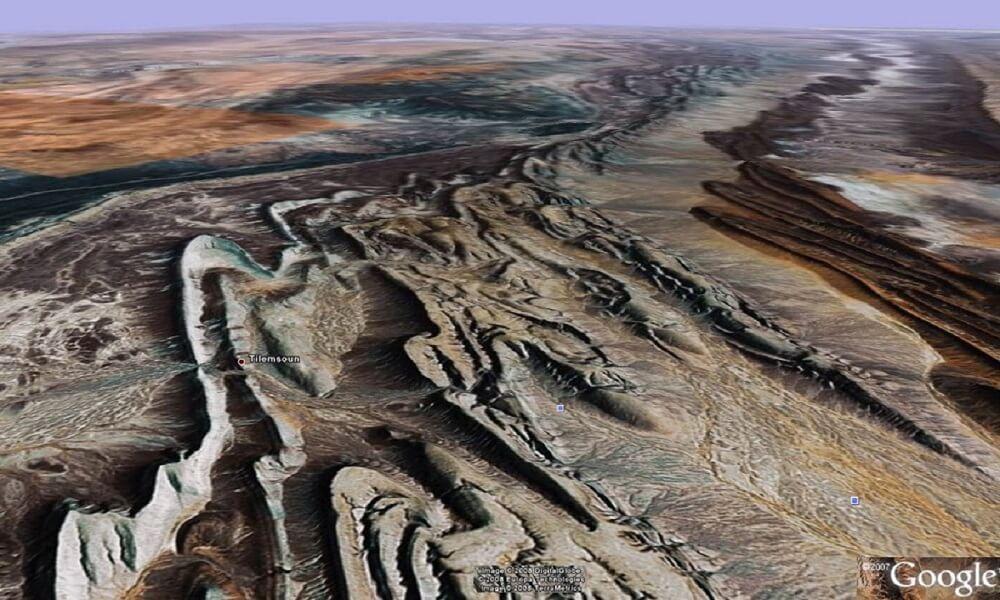 morocco geoplogie map