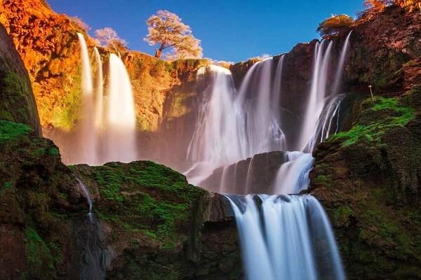 waterfalls cascad