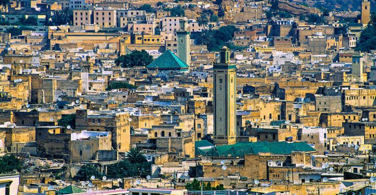 fes city morocco
