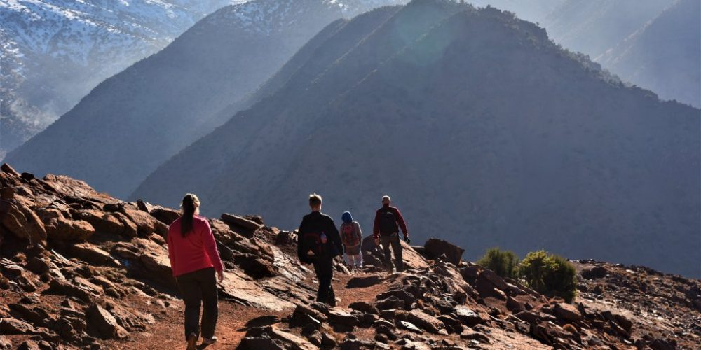 trekking atlas mountains