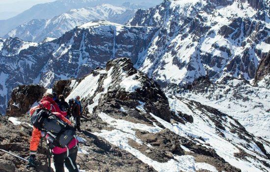 toubkal ascent trek 3 days